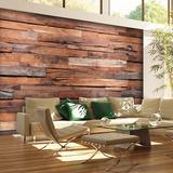 Reclaimed Wood Wall Mural Wallpaper Mural