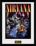 Nirvana- Unplugged Reproduction encadrée pour collectionneurs
