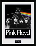 Pink Floyd- Band Under A Dark Moon Reproduction encadrée pour collectionneurs