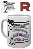 Pokemon Team Rocket Mug Tazza