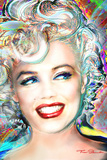 Theo Danella- Marilyn Monroe Electric Foto van Theo Danella