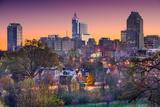 Raleigh, North Carolina, USA Skyline. Photographic Print by  SeanPavonePhoto