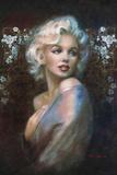 Theo Danella- Marilyn Monroe Portrait Kunstdruck von Theo Danella