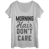 Womens: Morning Hair Don't Care Scoop Neck Vêtement