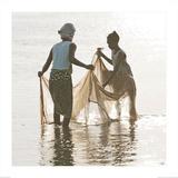 Scène de pêche Posters av Philip Plisson