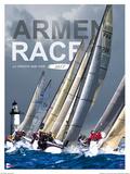 ArMen Race Poster von Philip Plisson