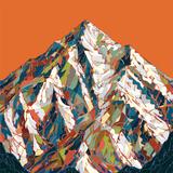 K2 Veggmaleri av  HR-FM