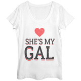 Womens: She's My Gal Scoop Neck Vêtements