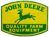 John Deere Wood Sign