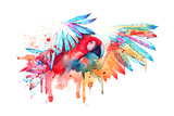 Parrot Posters by  okalinichenko
