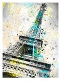 City Art Paris Eiffel Tower IV Print by Melanie Viola