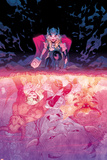 Mighty Thor No.3 Cover, Featuring Thor (Female), Minotaur, Enchantress, Malekith and More Poster