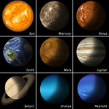 Le système solaire Art par  alex_aldo