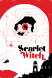 Cover, Featuring Scarlet Witch Poster