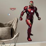 Iron Man Civil War Peel and Stick Giant Wall Decals Muursticker