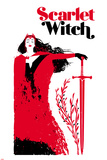 Cover, Featuring Scarlet Witch Stampa