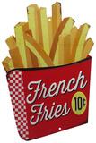 French Fries Blechschild
