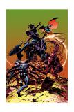 Carnage No.3 Cover, Featuring Spider-Man, Demogoblin, Shriek, Venom, Carnage and Doppleganger Plakater af Mike Deodato