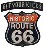 Route 66 Linked Sign Blikskilt