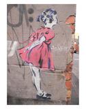 Kiss Print by  Banksy
