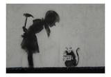 Rat Giclee-trykk av  Banksy