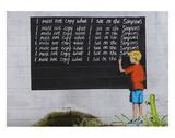 Simpsons Kunstdrucke von  Banksy