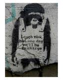 Laugh Now Affiches par  Banksy