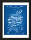Aircraft Rocket Patent Posters