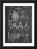 Diesel Engine Patent Prints