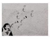 Flower Kunstdruck von  Banksy