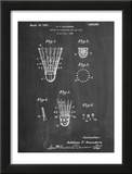 Badminton Shuttle Patent Posters