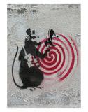 Rat radar Plakater av  Banksy
