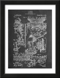 Harry Houdini Diving Suit Patent Posters