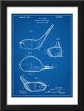 Golf Club Driver Patent Pôsteres