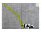 Pee Prints by  Banksy