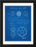 Soccer Ball Patent Pôsters
