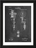 Tattoing Machine Patent 1891 Posters