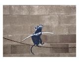 Tightrope Kunstdrucke von  Banksy