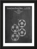 Soccer Ball Patent Poster