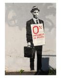 0% Interest Posters av  Banksy