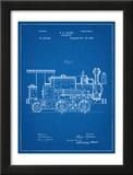 Train Locomotive Patent Print