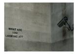 What Are You Looking At Lámina giclée por  Banksy