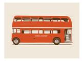 English Bus - S6 - Main Plakater af Florent Bodart