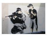 Boo! Print by  Banksy