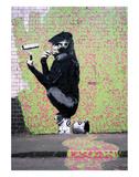 Gorilla Print by  Banksy