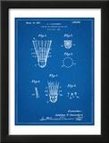 Badminton Shuttle Patent Poster