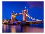 London Tower Bridge At Blue Hour Art by Melanie Viola