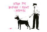 Stop me before I paint again Giclee-trykk av  Banksy