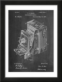 Photographic Camera 1887 Patent Posters