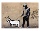 Dog Art by  Banksy